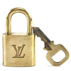 Louis Vuitton Gold Keepall Speedy Lock Key Set#320